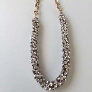 J. Crew Crystal Rope Necklace